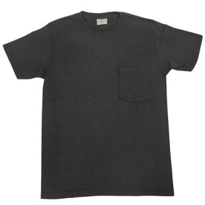 GOODWEAR(グッドウェア) S/S C/N POCKET T SHIRTS(半袖クルーネックポケットTシャツ) CUSTOM FIT(カスタムフィット) CHARCOAL GREY septis