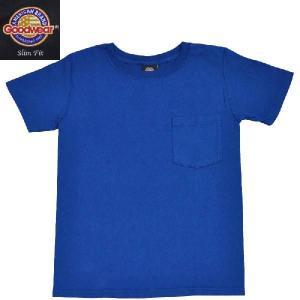 GOODWEAR(グッドウェア) SLIMFIT POCKET T SHIRTS(半袖クルーネック スリムフィットポケットTシャツ) BLUE septis