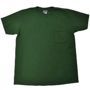 GOODWEAR(グッドウェア) S/S C/N POCKET T SHIRTS(半袖クルーネックポケットTシャツ) CUSTOM FIT(カスタムフィット) FOREST septis