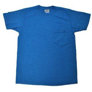 GOODWEAR(グッドウェア) S/S C/N POCKET T SHIRTS(半袖クルーネックポケットTシャツ) CUSTOM FIT(カスタムフィット) 杢BLUE septis