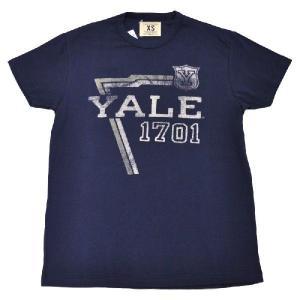 TAILGATE(テールゲート) VINTAGE PRINT T SHIRTS(ビンテージプリント Tシャツ)【YALE 1701】MAST BLUE septis