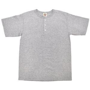 GOODWEAR(グッドウェア) S/S HENLEY NECK T SHIRTS(半袖ヘンリーネックTシャツ) OXFORD GREY septis