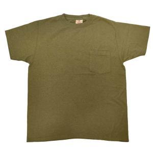 GOODWEAR(グッドウェア) S/S C/N POCKET T SHIRTS(半袖クルーネックポケットTシャツ) CUSTOM FIT(カスタムフィット) OLIVE septis