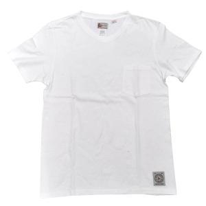 FELCO(フェルコ)【MADE IN U.S.A】S/S V/N POCKET TEE SHIRTS(アメリカ製 半袖VネックポケットTシャツ) WHITE|septis
