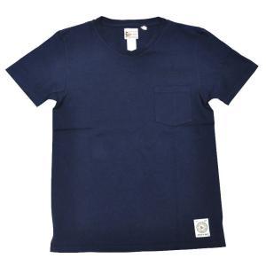 FELCO(フェルコ)【MADE IN U.S.A】S/S V/N POCKET TEE SHIRTS(アメリカ製 半袖VネックポケットTシャツ) NAVY|septis