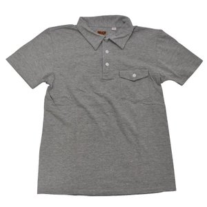 FELCO(フェルコ)【MADE IN U.S.A】S/S POLO SHIRT(アメリカ製 半袖ポロシャツ) GREY|septis