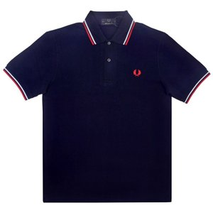 THE ORIGINAL FRED PERRY(フレッドペリー)【MADE IN ENGLAND】 M-12 S/S POLO SHIRTS (イギリス製 M12 半袖ポロシャツ) NAVY/RED/WHITE|septis