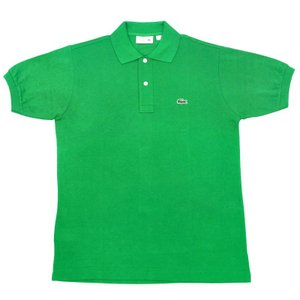 FRANCE LACOSTE(直輸入フランスラコステ) #L1212 S/S PIQUE POLOSHIRTS(半袖 鹿の子 ポロシャツ) CHLOROPHYLLE(KELLY GREEN)(CAB)|septis