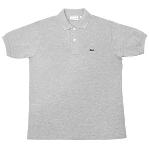 FRANCE LACOSTE(直輸入フランスラコステ) #L1264 S/S PIQUE POLOSHIRTS(半袖 鹿の子 ポロシャツ) ARGENT CHINE(HEATHER SILVER)(CCA)|septis