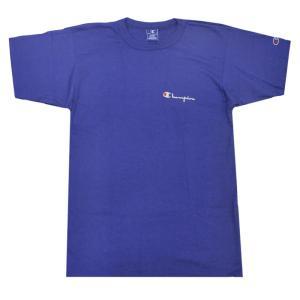 CHAMPION(チャンピオン) 【MADE IN U.S.A.】 DEADSTOCK(デッドストック) 80s S/S LOGO T-SHIRTS(アメリカ製 80年代 半袖 ロゴ Tシャツ) PURPLE NAVY|septis