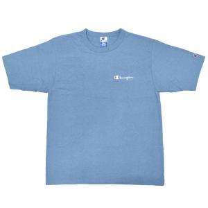 CHAMPION(チャンピオン) 【MADE IN U.S.A.】 DEADSTOCK(デッドストック) 80s S/S LOGO T-SHIRTS(アメリカ製 80年代 半袖 ロゴ Tシャツ) JAPAN BLUE|septis