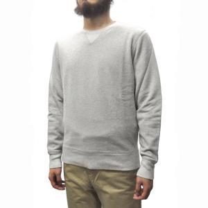 LEVI'S MADE AND CRAFTED(リーバイス メイドアンドクラフテッド) CREWNECK SWEAT SHIRTS(クルーネック スウェットシャツ) GREY septis