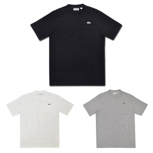 【3 COLOR】JAPAN LACOSTE(ジャパンラコステ) S/S C/N HEAVY PIQUE T-SHIRTS(半袖 鹿の子 ヘビー Tシャツ)