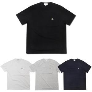 【3 COLOR】JAPAN LACOSTE(ジャパンラコステ) S/S C/N POCKET T-SHIRTS(半袖 ポケットTシャツ) septis