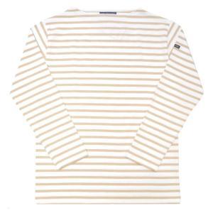 SAINT JAMES(セントジェームス) L/S BOATNECK BASQUE SHIRT(長袖ボートネックバスクシャツ) OUESSANT(ウエッソン) NEIGE/DUNE|septis