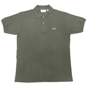 FRANCE LACOSTE(直輸入フランスラコステ) #L1212 S/S PIQUE POLOSHIRTS(半袖 鹿の子 ポロシャツ) ARMEE(ARMY)(02C)|septis
