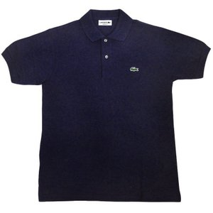 FRANCE LACOSTE(直輸入フランスラコステ) #L1264 S/S PIQUE POLOSHIRTS(半袖 鹿の子 ポロシャツ) PRUNELLE CHINE(CHINE SLOE)(HTR)|septis