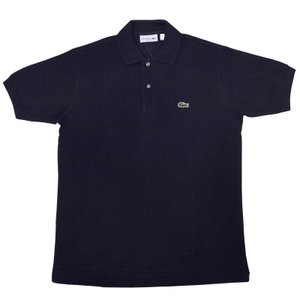 US LACOSTE(北米 ラコステ) #L1212 S/S PIQUE POLOSHIRTS(半袖 鹿の子 ポロシャツ) MARINE(NAVY)(166) septis
