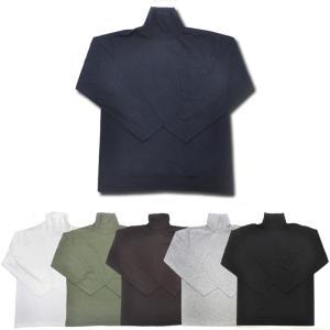 【5 COLORS】GOODWEAR(グッドウェア)【MADE IN U.S.A.】 L/S TURTLE NECK POCKET T SHIRTS(アメリカ製 長袖タートルネックポケットTシャツ) septis
