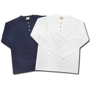 【2 COLORS】GOODWEAR(グッドウェア)【MADE IN U.S.A.】 L/S HENLEY NECK POCKET T SHIRTS(アメリカ製 長袖ヘンリーネックポケットTシャツ) septis