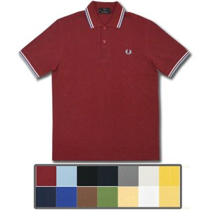 【アイテム】 英国製フレッドペリーの定番アイテムである半袖ポロシャツが登場。 鹿の子素材を使用し、イ...