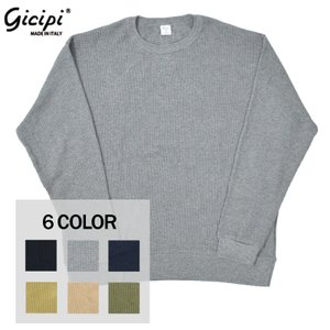 【4 COLORS】GICIPI(ジチピ) 【MADE IN ITALY】 COTTON SOFT ...