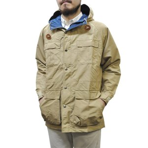SIERRA DESIGNS(シェラデザイン) 【MADE IN USA】(アメリカ製) 60/40(ロクヨンクロス) MOUNTAIN PARKA(マウンテンパーカ) VINTAGE TAN/NAVY|septis
