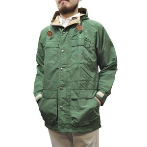 SIERRA DESIGNS(シェラデザイン) 【MADE IN USA】(アメリカ製) 60/40(ロクヨンクロス) MOUNTAIN PARKA(マウンテンパーカ) GREEN/VINTAGE TAN|septis