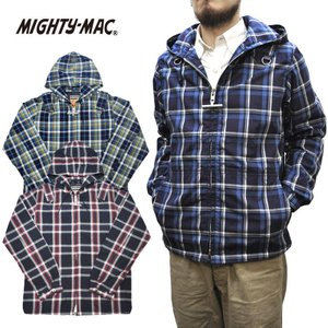 【3 COLOR】MIGHTY MAC(マイティーマック) SEPTIS別注 ARO DECK PARKA(ボートパーカ) MADRAS CHECK|septis