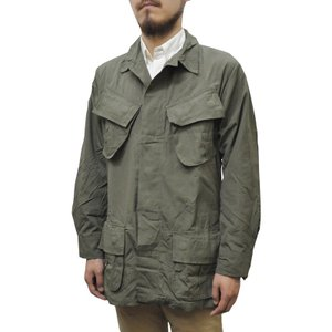 MILITARY(ミリタリー) DEAD STOCK(デッドストック) '60 U.S.ARMY JUNGLE FATIGUE JACKET(ジャングルファティーグ) OLIVE|septis