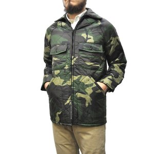 BRENTS(ブレンツ) 【MADE IN U.S.A】 DEADSTOCK NYLON RIPSTOP QUILTING JACKET(アメリカ製 デッドストック キルティングジャケット) WOODLAND CAMO|septis