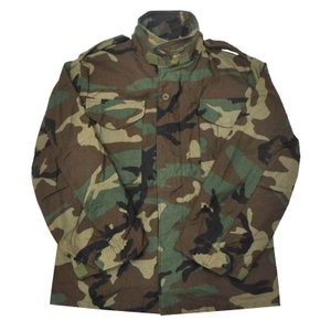 GOLDEN MFG CO.(ゴールデンマニュファクチュアリング社) 【MADE IN U.S.A】 DEAD STOCK M-65 FIELD JACKET(アメリカ製 デッドストック M−65) WOODLAND CAMO|septis