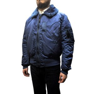 ALPHA(アルファ) 【MADE IN U.S.A】 DEAD STOCK B-15(アメリカ製デッドストックB−15) VINTAGE NAVY|septis