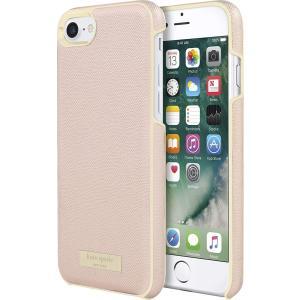 kate spade new york(ケイトスペード)iPhone 7/8/ SE(第二世代 2020年モデル) ケース(サフィアーノ ローズゴールド)|serekuto-takagise