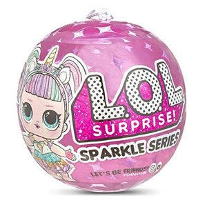 L.O.L. Surprise! Dolls Sparkle Series A, Multicolor LOL サプライズ スパークルシリーズ マルチカラー 輝きシリーズ
