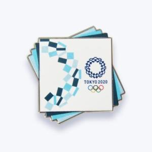 東京2020オリンピック 公式商品 オフィシャルライセンス ピンバッジC 藍色 serekuto-takagise