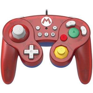 任天堂ライセンス商品 ホリ クラシックコントローラー(ゲームキューブ) for Nintendo Switch マリオ|serekuto-takagise