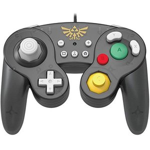 任天堂ライセンス商品 ホリ クラシックコントローラー(ゲームキューブ) for Nintendo Switch ゼルダ|serekuto-takagise
