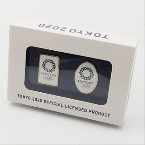 東京2020オリンピック 公式商品 オフィシャルライセンス ピンバッジ2個セット フルカラー serekuto-takagise