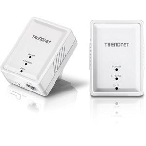 TRENDnet Powerline 500 AV Nano アダプターキット/ 500Mbps Compact Powerline AV Adapter Kit|serekuto-takagise