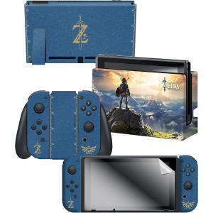 任天堂ライセンス商品 コントローラーギア Nintendo Switch スイッチ スキンシール&ス...