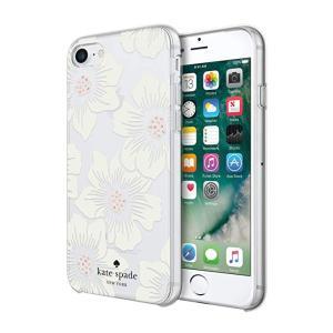 kate spade new york(ケイトスペード)iPhone 7/8 スマホ ハードシェル ケース クリアフローラルプリント|serekuto-takagise