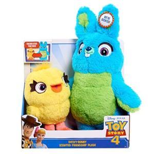 Disney PIXAR TOY STORY 4 Ducky Bunny Scented Friendship おもちゃ ディズニー ピクサー トイストーリー 4  ダッキー & バニー ぬいぐるみセット|serekuto-takagise