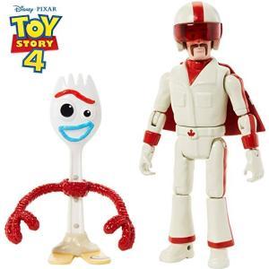 Disney PIXAR TOY STORY 4 Forky & Duke  おもちゃ ディズニー ピクサー トイストーリー 4 フィギュア フォーキー & デューク・カブーン|serekuto-takagise
