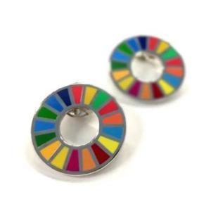 SDGs SDG Pins エスディージーズ ピンバッジ 国連本部限定販売 正規品 2個セット serekuto-takagise