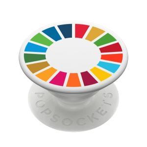 SDGs PopSocket エスディージーズ ポップソケッツ スマホ グリップ スタンド 国連本部限定販売 正規品 serekuto-takagise