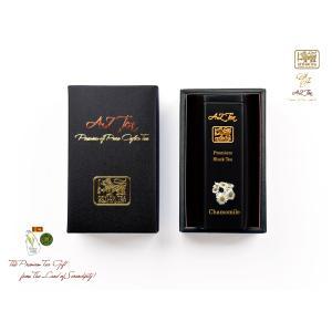 マリオット銀座愛用! 黒缶 1缶入りギフト 18/Chamomile Tea カモミールティー/40...