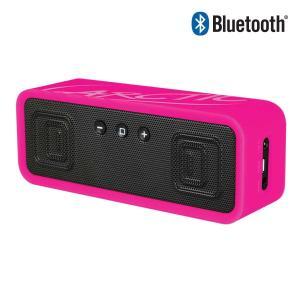 スピーカー ワイヤレス ステレオ (ピンク)Bluetooth V4.0+EDR(Class2) Arctic  バッテリー内蔵 iPhone、iPod、iPad、Android搭載スマートフォン対応|server