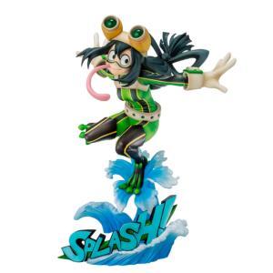 僕のヒーローアカデミア 蛙吹 梅雨 ヒーロースーツVer. 1/8スケール PVC製 塗装済み 完成品 フィギュア  ベルファイン(BellFine)の画像
