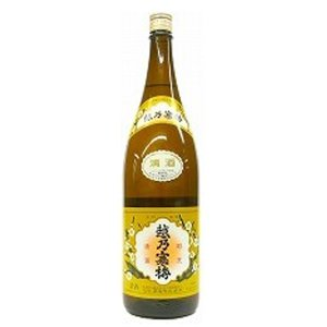 越乃寒梅 普通酒 白1800ml  (センター便)|sesohl